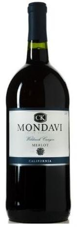 CK Mondavi Merlot Wildcreek Canyon